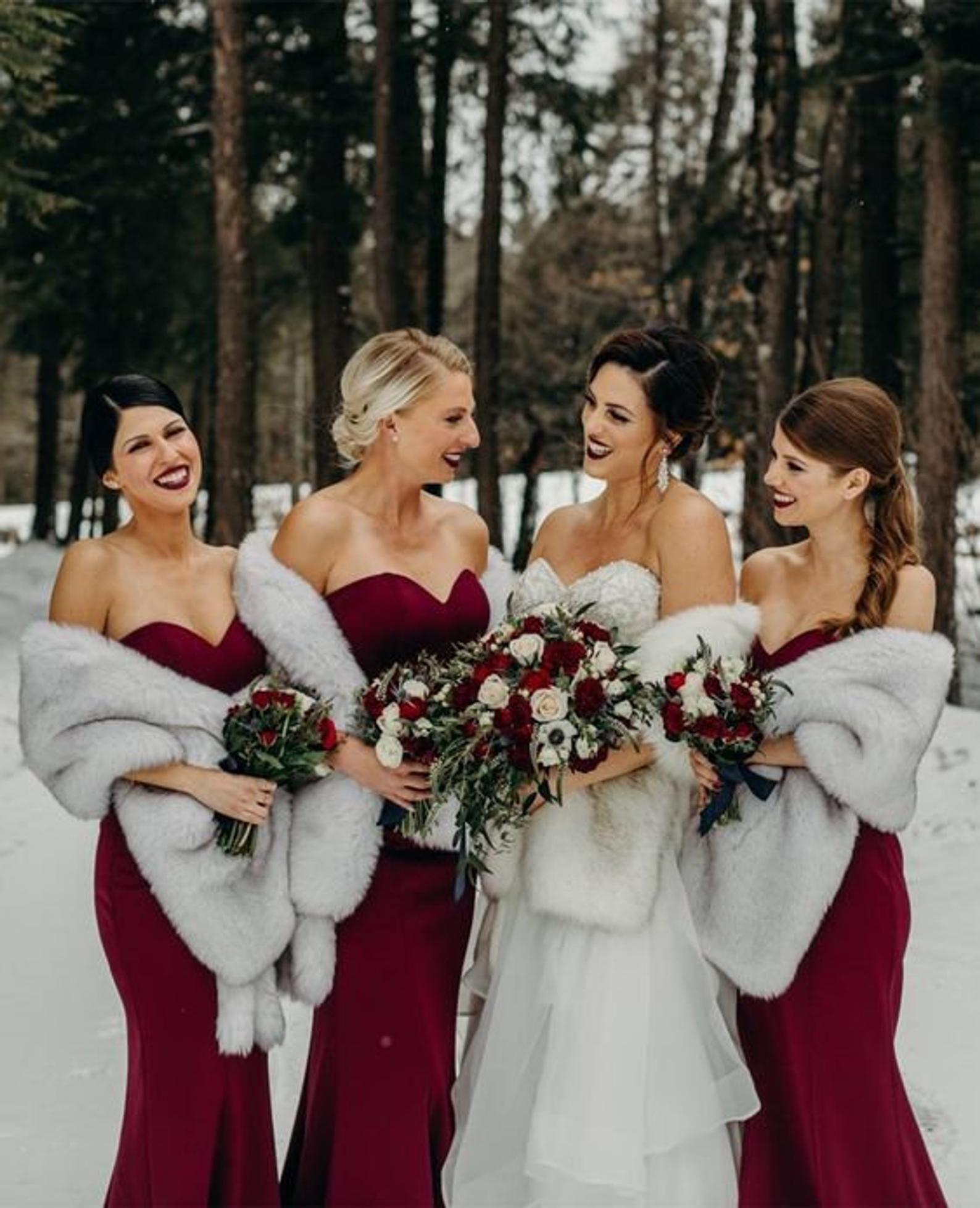 outfit matrimonio invernale